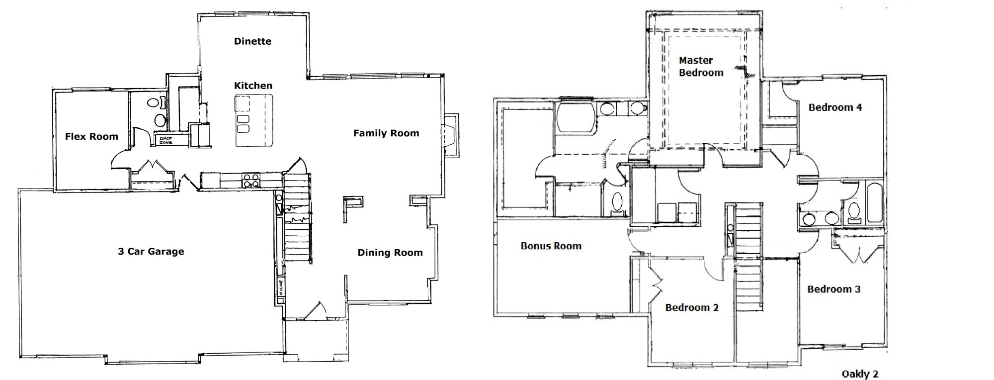 Floor plans timberline homes inc for Timberline homes floor plans
